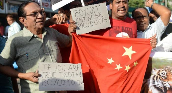Twitter followers trend #BoycottChineseProducts